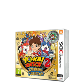 YO-KAI WATCH 2 CARNANIMAS + MEDALLA 3DS