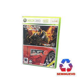 PACK GEARS OF WAR + PROJECT GOTHAM RACING XBOX 360 (SEMINUEVO)