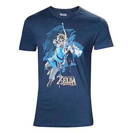 CAMISETA THE LEGEND OF ZELDA BREATH OF THE WILD LINK WITH ARROW
