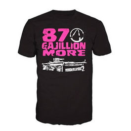CAMISETA BORDERLANDS 2 87 GAJILLION MORE