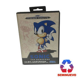 SONIC THE HEDGEHOG MEGA DRIVE (SEMINUEVO)