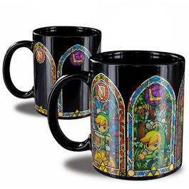 TAZA SENSIBLE AL CALOR THE LEGEND OF ZELDA LINK
