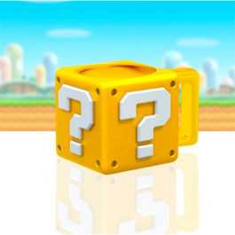 TAZA SUPER MARIO BROS QUESTION BLOCK