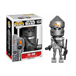 FIGURA POP STAR WARS SMUGGLERS BOUNTY EXCLUSIVE IG-88 9 CM