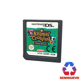 ANIMAL CROSSING WILD WORLD NDS (SEMINUEVO)