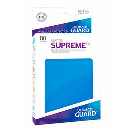 ULTIMATE GUARD SUPREME UX SLEEVES FUNDAS TAMAÑO ESTANDAR AZUL MATE (80)