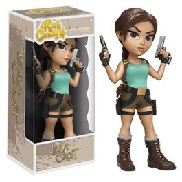 FIGURA ROCK CANDY TOMB RAIDER LARA CROFT 13 CM