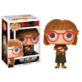 FIGURA POP TWIN PEAKS THE LOG LADY 9 CM