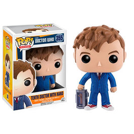 FIGURA POP DOCTOR WHO 10TH DOCTOR WITH HAND 9 CM