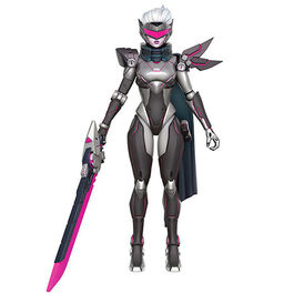 FIGURA LEAGUE OF LEGENDS LEGACY COLLECTION FIORA PROJECT SKIN 15 CM