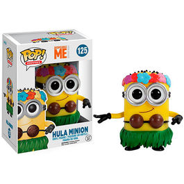 FIGURA POP DESPICABLE ME (GRU MI VILLANO FAVORITO) HULA MINION 9 CM