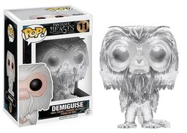 FIGURA POP ANIMALES FANTASTICOS DEMIGUISE (INVISIBLE) 9 CM