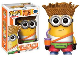 POP DESPICABLE ME 3 (GRU MI VILLANO FAVORITO 3) TOURIST DAVE 9 CM