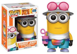 POP DESPICABLE ME 3 (GRU MI VILLANO FAVORITO 3) TOURIST JERRY 9 CM