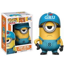POP DESPICABLE ME 3 (GRU MI VILLANO FAVORITO 3) I HEART GRU MEL 9 CM