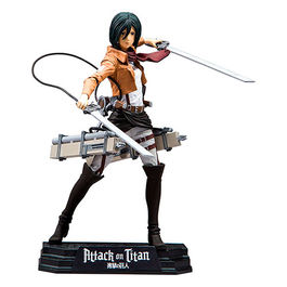 FIGURA ATTACK ON TITAN COLOR TOPS MISAKA ACKERMAN 18 CM