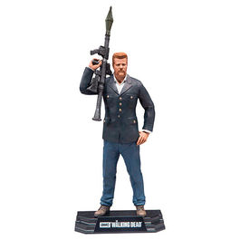 FIGURA THE WALKING DEAD TV VERSION COLOR TOPS ABRAHAM FORD 18 CM