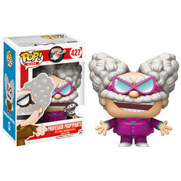 FIGURA POP CAPITAN CALZONCILLOS PROFESSOR POOPYPANTS (PURPLE) 9 CM