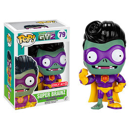 FIGURA POP PLANTS VS ZOMBIES GARDEN WARFARE 2 SUPER BRAINZ 9 CM