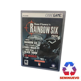 RAINBOW SIX PACK PC (SEMINUEVO)