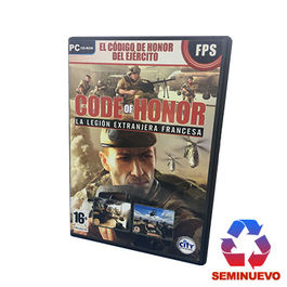 CODE OF HONOR LA LEGION EXTRANJERA FRANCESA PC (SEMINUEVO)