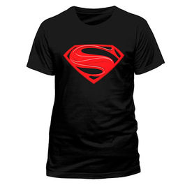 CAMISETA SUPERMAN MAN OF STEEL RED
