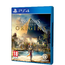 ASSASSINS CREED ORIGINS PS4 + GORRA