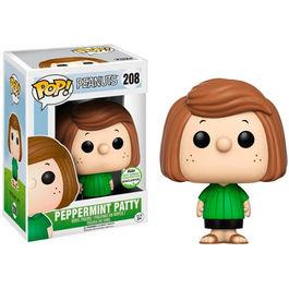 FIGURA POP PEANUTS SNOOPY PEPPERMINT PATTY 2017 SPRING CONVENTION LIMITED 9 CM