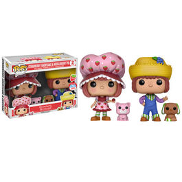 FIGURA POP TARTA DE FRESA PACK STRAWBERRY SHORTCAKE & HUCKLEBERRY PIE NEW YORK COMIC CON LIMITED 9 CM