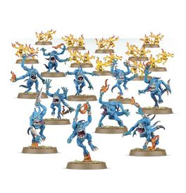 WH BLUE HORRORS Y BRIMSTONE HORRORS (CAJA DISCIPLES OF TZEENTCH / CHAOS DAEMONS)
