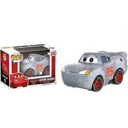 FIGURA POP DISNEY CARS 3 RAYO MCQUEEN GREY (PRIMED) 9 CM
