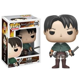 FIGURA POP ATTACK ON TITAN LEVI ACKERMAN 9 CM