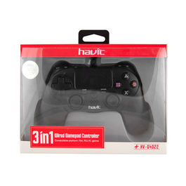 WIRED GAMEPAD CONTROLLER 3 IN 1 HAVIT PS4 - PS3 - PC