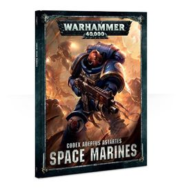 WH 40K CODEX: SPACE MARINES (Hardback) 2017 ESPAÑOL
