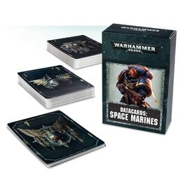 WH 40K DATACARDS: SPACE MARINES (ESP)