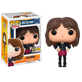 FIGURA POP DOCTOR WHO CLARA OSWALD SDCC 2017 EXCLUSIVE 9 CM