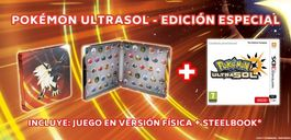POKEMON ULTRASOL STEEL EDITION 3DS