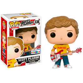 FIGURA POP SCOTT PILGRIM VS THE WORLD SCOTT PILGRIM PLUMTREE TEE 9 CM