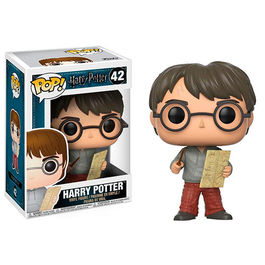 FIGURA POP HARRY POTTER - HARRY POTTER WITH MARAUDERS MAP 9 CM
