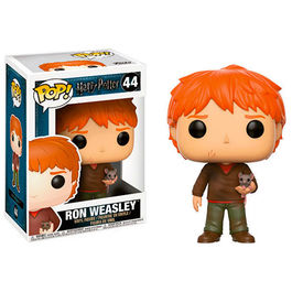FIGURA POP HARRY POTTER RON WEASLEY WITH SCABBERS 9 CM
