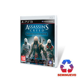 ASSASSINS CREED HERITAGE COLLECTION PS3 (SEMINUEVO)