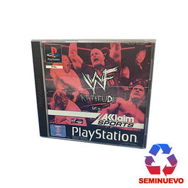 WWF ATTITUDE PS ONE (SEMINUEVO)