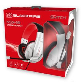 AURICULARES GAMING HEADSET BLACKFIRE NSX 10 SWITCH