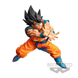 FIGURA DRAGON BALL Z SUPER KAMEHAME-HA SON GUKU 20 CM