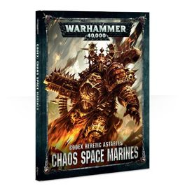 WH 40K CODEX: CHAOS SPACE MARINES 2017 ESPAÑOL