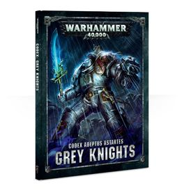 WH 40K CODEX: GREY KNIGHTS 2017 ESPAÑOL