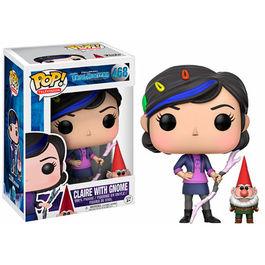 FIGURA POP TROLLHUNTERS CLAIRE WITH GNOME 9 CM