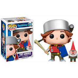 FIGURA POP TROLLHUNTERS TOBY ARMORED WITH GNOME 9 CM