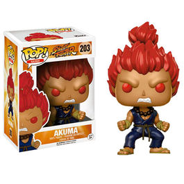 FIGURA POP STREET FIGHTER AKUMA 9  CM