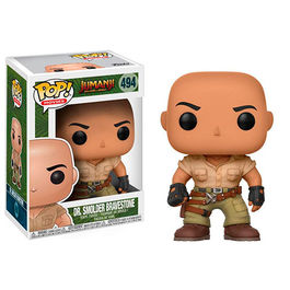FIGURA POP JUMANJI WELCOME TO THE JUNGLE DR SMOLDER BRAVESTONE 9 CM